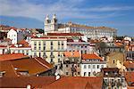 Igreja da Graca and Skyline, Lisbon, Portugal