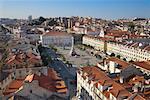Praca Dom Pedro IV, Lisbon, Portugal