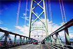 McDonald Bridge, Crossing from Halifax to Dartmouth, Nova Scotia, Canada