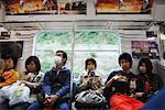 Pople Commuting, Tokyo, Japan