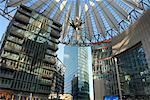 Sony Centre Atrium, Potsdamer Platz, Berlin, Allemagne