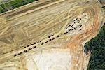 Subdivision Construction Site, Fort McMurray, Alberta, Canada