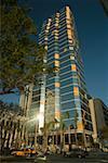 Low angle view of a skyscraper, Miami, Florida, USA