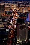 High angle view of buildings, Las Vegas, Nevada, USA