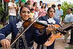 Mariachi Musicians at Family Gathering