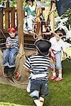 Boys Pretending to be Pirates