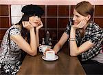 Portrait of Women in Restaurant