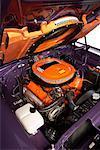Motor des 1970 Dodge Super Bee