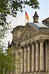 Façade du Reichstag, Berlin, Allemagne
