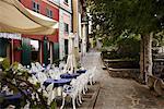 Café trottoir, Italie