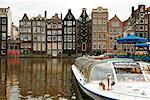 Tour Boat, Amsterdam, Hollande