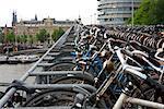 Bicycle Garage, Amsterdam, Holland