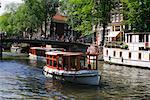 Bateau, Amsterdam, Hollande