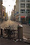Straßenszene in Amsterdam, Niederlande