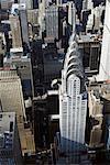 Midtown Manhattan and the Chrysler Building, New York City, New York, USA