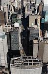 Midtown Manhattan et Park Avenue, New York City, New York, États-Unis
