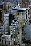 Vue d'ensemble de la ville de New York, New York, USA