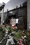 Eva Peron's Grave in La Recoleta Cemetery, Recoleta, Buenos Aires, Argentina