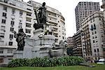 Carlos Pellegrini Statue. Recoleta, Buenos Aires, Argentina