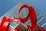 Sculpture, Dallas, Texas, USA