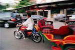 Motorcycle Taxi, Phnom Penh, Cambodia