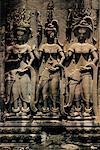 Bas-Relief sculptures, Angkor Wat, Phnom Penh, Cambodge