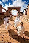 Children in Village Dressed in White, Soatanana, Madagascar