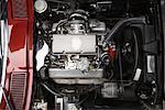 Motor des 1965 Chevrolet Corvette Stingray