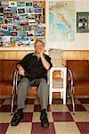 Portrait of Barber in Barber Shop