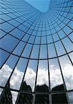 Wolkenkratzer, Flachwinkelansicht
