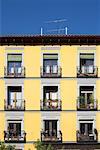 Building, Madrid, Spain
