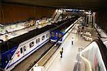 Station de métro Moncola, Madrid, Espagne