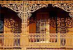 Ornate Porch on Building, Selma, Alabama, USA