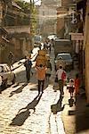 Scène de rue à Antananarivo, Madagascar