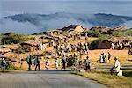 People at Market in Andohasana, Madagascar