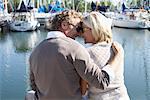 Couple à la Marina