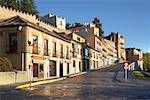 Street Scene in Segovia, Spain