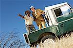 Men on Safari, Western Cape, South Africa