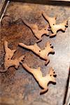 Cookies auf Backblech