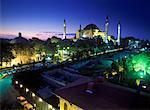 Haghia Sophia, la mosquée Sultanahmet Square, Istanbul, Turquie