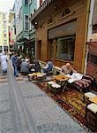 Scène de rue à Istanbul, Turquie