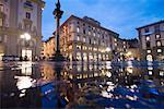 Piazza della Republica, Florence, Italie