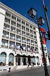 L'Hotel Grande Bretagne, le quartier de Plaka, Athènes, Grèce