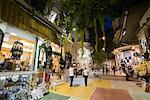 Street Scene, Plaka District, Athens, Greece