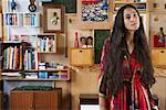 Portrait of Woman in Loft
