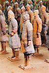 Terracotta Warriors, Xian, Province de Shaanxi, Chine