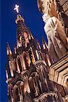 La Parroquia, San Miguel de Allende, Mexique