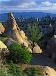 La fée cheminées, Göreme, Cappadoce, Turquie