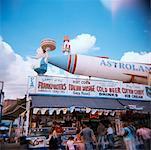 Astroland Amusement Park in Coney Island, New York, USA