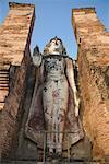 Standing Buddha, Sukhothai Historical Park, Sukhothai, Thailand